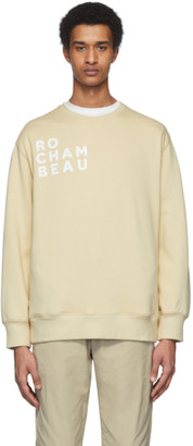 Rochambeau Beige Core Sweatshirt