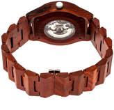 Earth Wood Gobi Unisex Red Bracelet Watch-Ethew4303