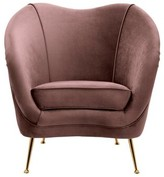 Eichholtz Cambiano Barrel Chair Upholstery Color: Lilac