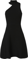 Cushnie et Ochs Asymmetric Neck Dress