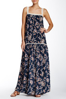 Love Stitch Floral Crochet Maxi Dress