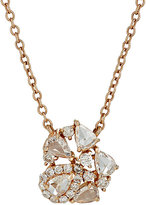 Zoe Women's Mixed-Diamond Pendant Necklace