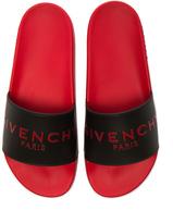 Givenchy Slide Flat Sandals