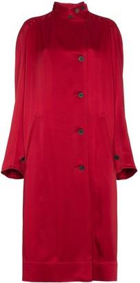 Haider Ackermann single breasted raglan sleeve coat