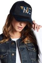 True Religion Geo Name Baseball Cap