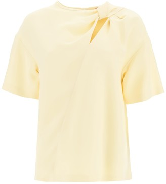 N°21 N.21 Blouse With Knot