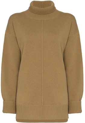 Joseph Turtleneck Oversized Jumper