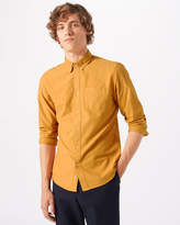 Jigsaw Garment Dye Oxford Button Down Shirt