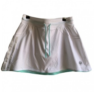 adidas White Polyester Skirts