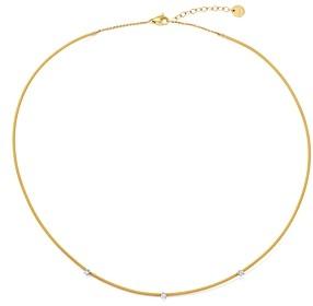 Marco Bicego 18K Yellow & White Gold Bi49 Diamond Collar Necklace, 18 - 100% Exclusive