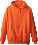 Carhartt Men's Big & Tall Midweight Signature Sleeve Logo Sweatshirt Hooded