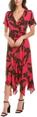 A.L.C. Cora Silk Midi Dress