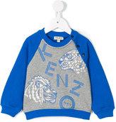 Kenzo wild cats printed sweatshirt - kids - Cotton - 3 mth