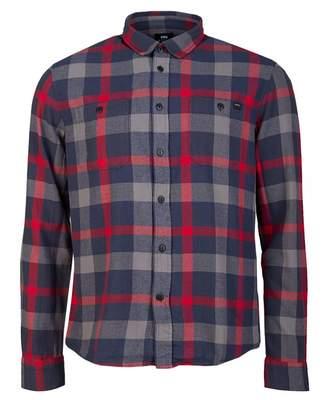 Edwin Labour Check Shirt Colour: Ebony, Size: SMALL