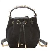 Juicy Couture Velvet Wilshire Woodlands Mini Bucket Bag