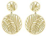 Theo Fennell Palm Diamond Double Disc Earrings