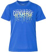 Converse Boys' Linear All Star T-Shirt, Blue
