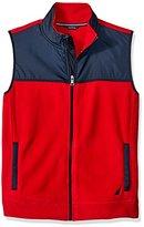 Nautica Men's Slim Fit Fleece Vest