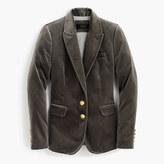 J.Crew Petite velvet blazer
