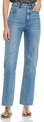 Rebecca Taylor Patched Jeans in Ete Patch Wash