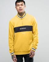 Puma High Neck Quarter Zip Sweatshirt