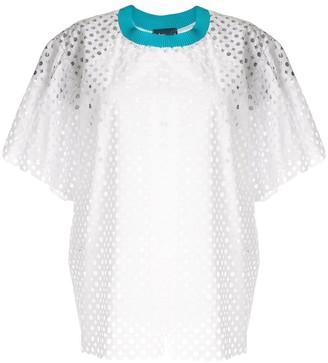 Kolor mesh T-shirt