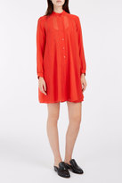 Paul & Joe Chiffon Shirt Dress