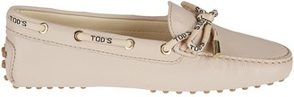 Tod's Tods Logo Laced Loafers