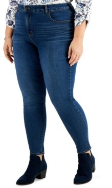 Style&Co. Style & Co Plus Size Skinny Jeans, Created for Macy's