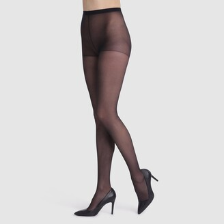 Dim Pack of 3 Beauty Resist 25 Denier Semi-Opaque Tights, Made in France