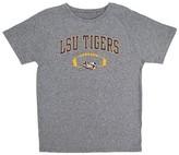 NCAA LSU Tigers Boys Gray Synthetic T-Shirt