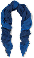 Proenza Schouler Modal, Wool And Silk-Blend Jacquard Scarf