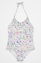 Milly Minis One Piece Swimsuit (Little Girls) Confetti Multi 6-7