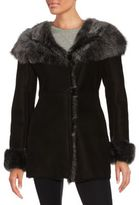 Blue Duck Shearling & Sheepskin Leather Coat