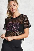 Forever 21 Active 99 Graphic Top
