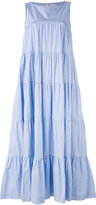 P.A.R.O.S.H. tiered maxi dress - women - Cotton - XS
