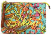 Trina Turk Papillion Palm Bikini Bag
