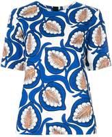 Marni desert print blouse