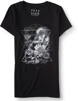 Free State Floral Glow Graphic T