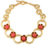 Trina Turk Wildflower Flower Collar Necklace