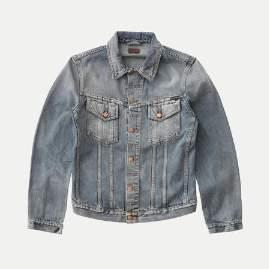 Nudie Jeans Shimmering Indigo Billy Denim Jacket - M - Blue
