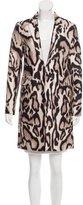 Diane von Furstenberg Wool & Silk Mahala Coat