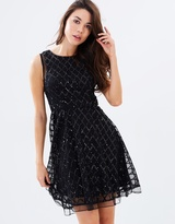 Lumier Believe With Your Heart Flare Dress
