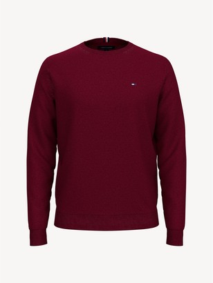 Tommy Hilfiger TH Luxe Merino Wool Crewneck Sweater
