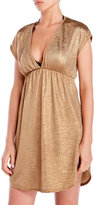 Jordan Taylor Metallic Cap Sleeve Cover-Up