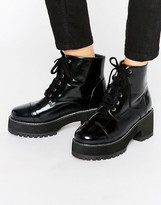 Asos RUE Chunky Lace Up Boots