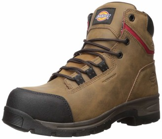 "Dickies Men's Tractus 6"" Steel Toe EH Waterproof Industrial Boot"
