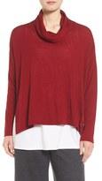 Eileen Fisher Women's Boxy Merino Wool Sweater