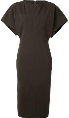 Rick Owens Side-Slit Fitted Dress