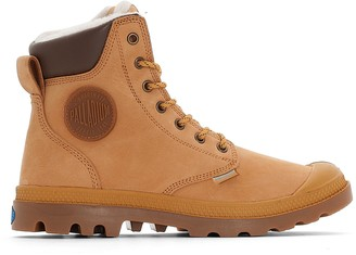 Palladium Pampa Sport Wps Leather Ankle Boots